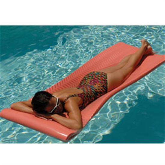 Texas Recreation Softie Pool Float - Coral-Aqua Supercenter Outlet - Discount Swimming Pool Supplies