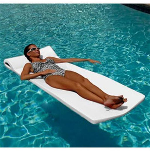 Texas Recreation Sunsation Pool Float - White-Aqua Supercenter Outlet - Discount Swimming Pool Supplies