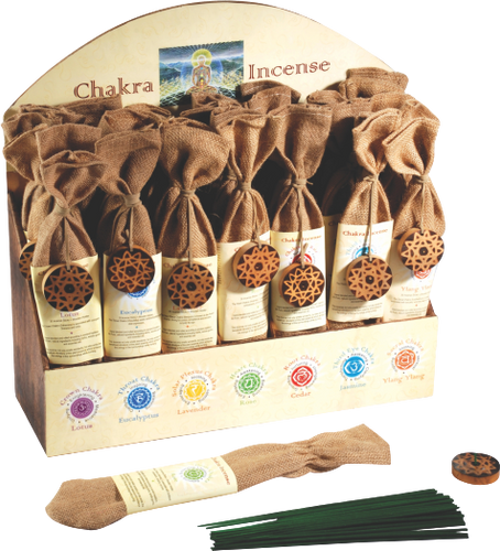 Chakra Incense Display Unit of 42 HWC Australia