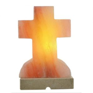 Cross Salt Lamp HWC Australia