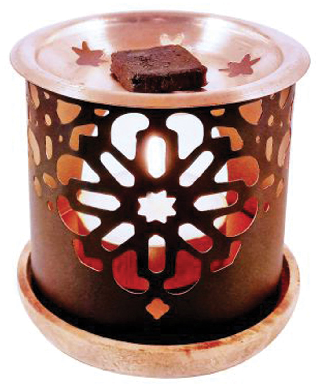 Flower Incense Brick Burner