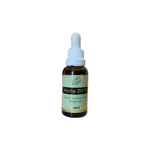 Hemp 2000 Topical Concentrated Oil 30ml HWC Australia