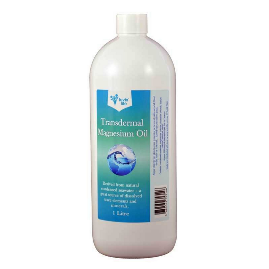 1 Litre Transdermal Magnesium Oil