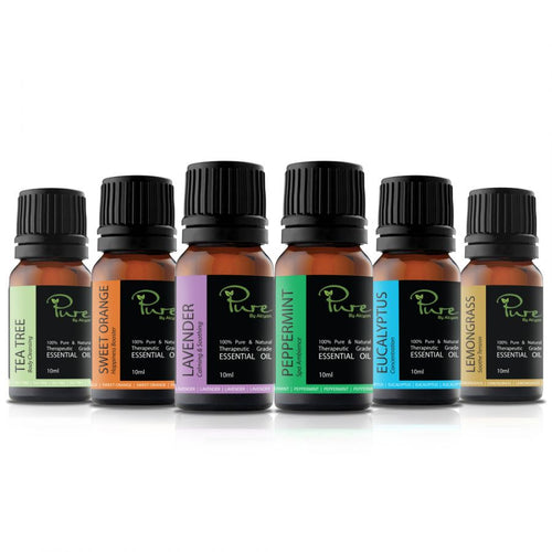Original 6 Essential Oils Pack HWC Australia