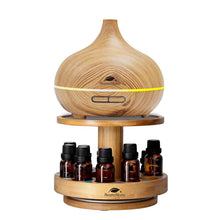 Load image into Gallery viewer, Diffuser & Essential Oil Bamboo Stand