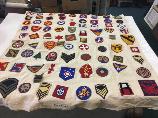 WW2 Patch Blanket