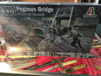 Pegasus Bridge WW2 Playset