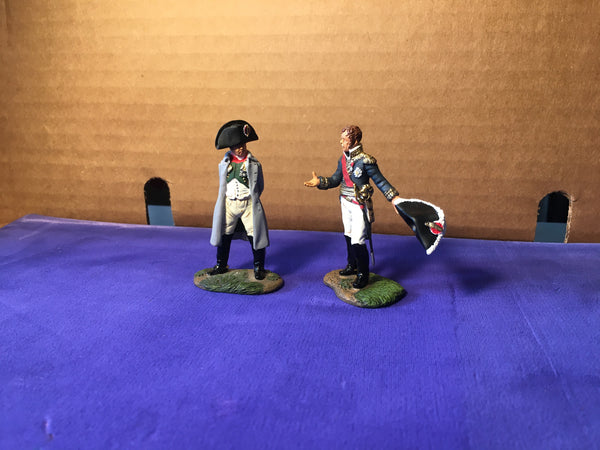 Britain's - Napoleon and Marshall