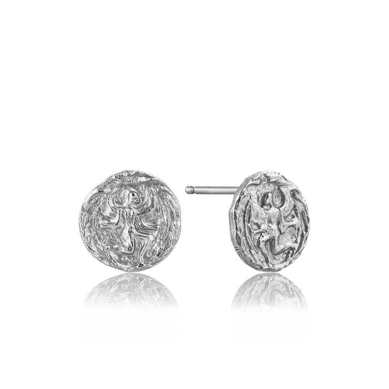 Ania Haie Boreas Stud Earrings - Silver