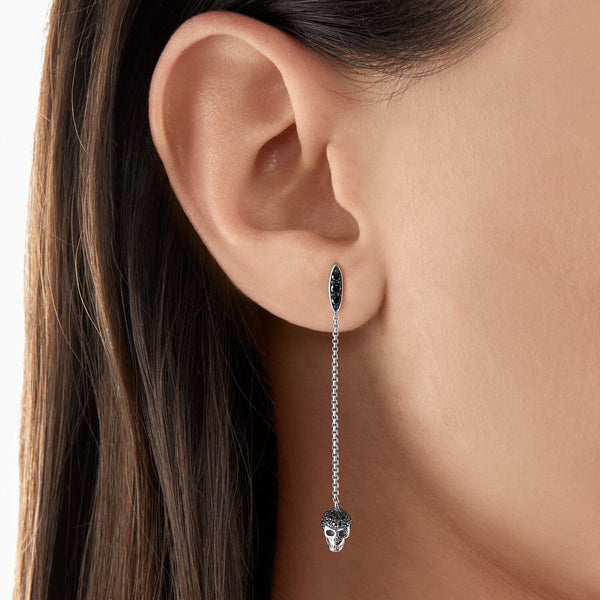 Thomas Sabo Earrings Skull Silver