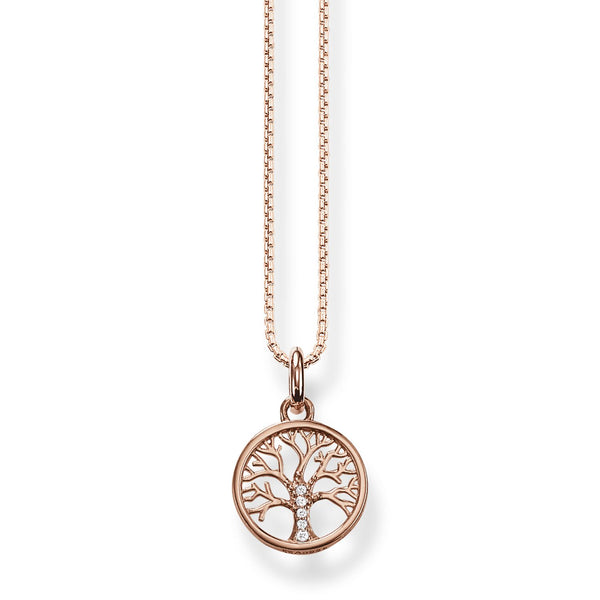 Thomas Sabo Necklace Tree Of Love Rose Gold