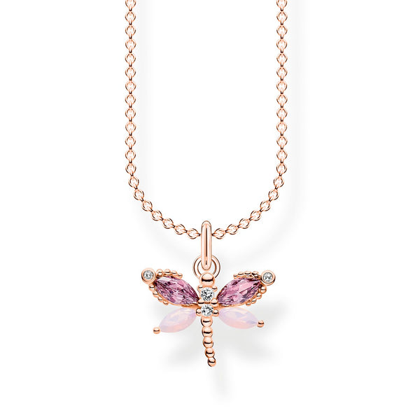 Thomas Sabo Necklace Dragonfly Rose Gold