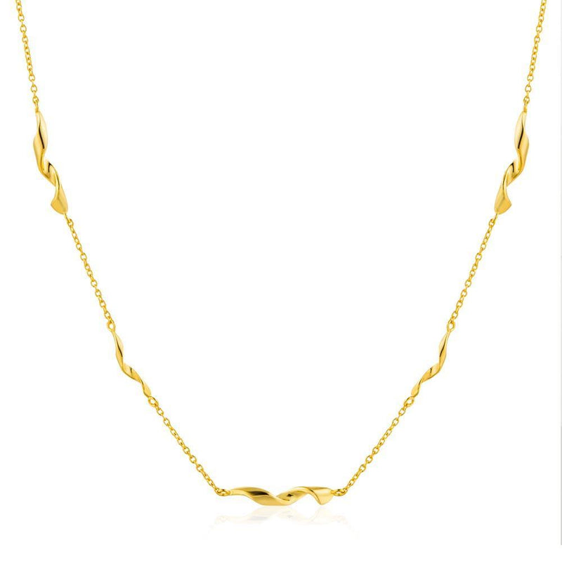Ania Haie Helix Necklace - Gold