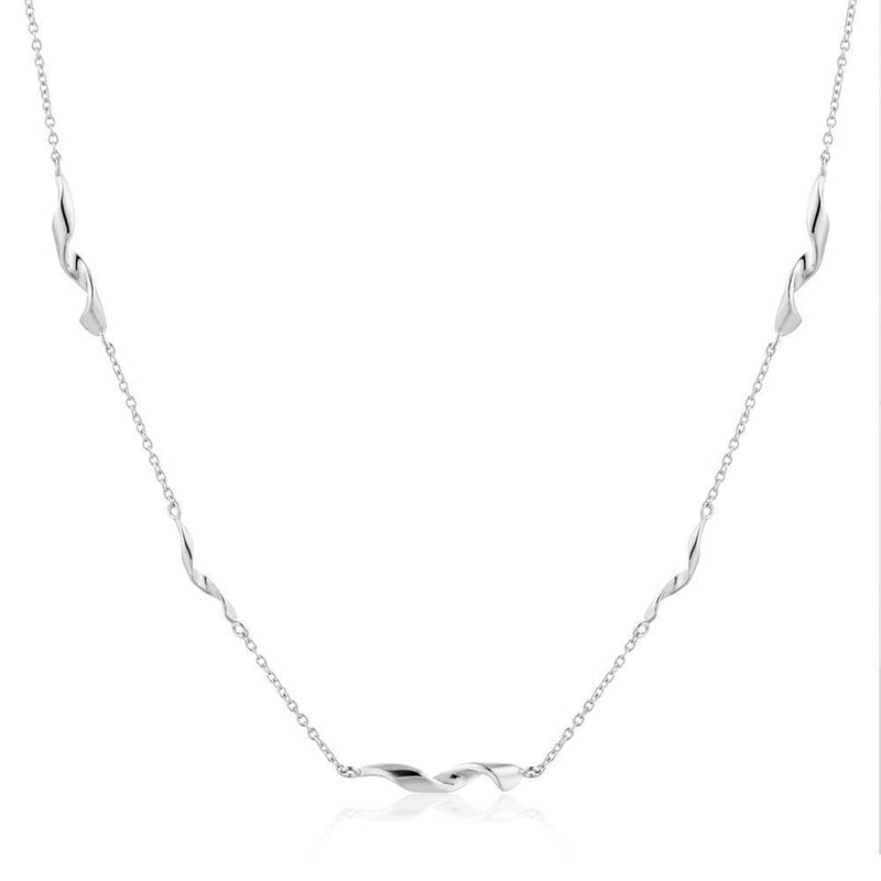 Ania Haie Helix Necklace - Silver