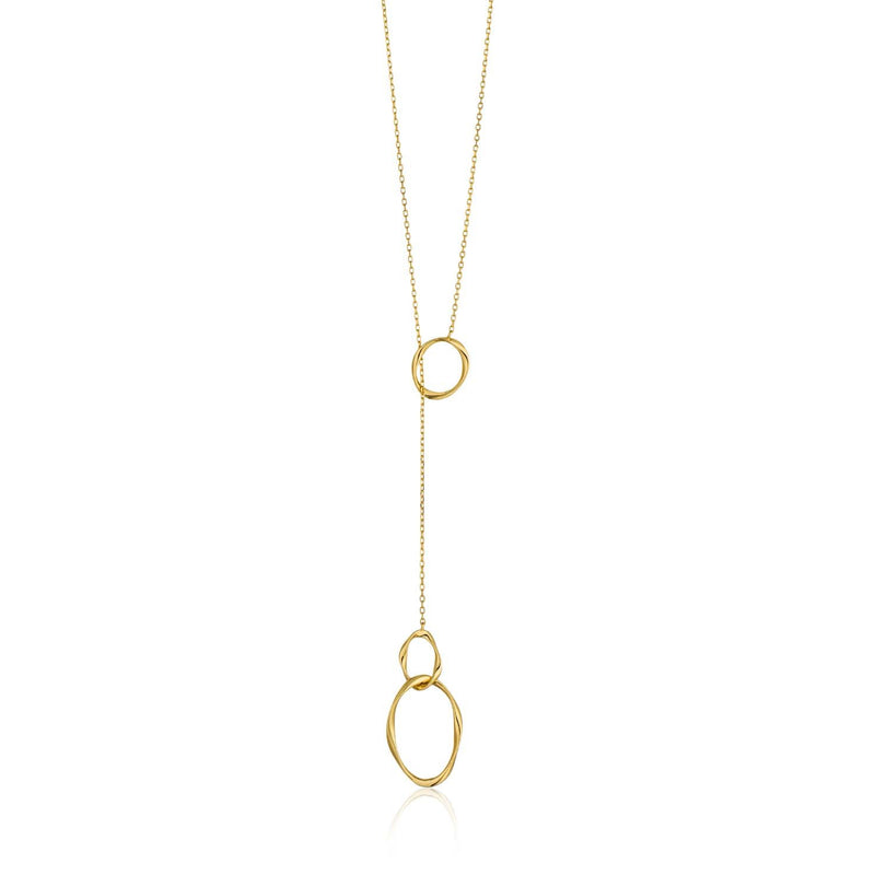Ania Haie Swirl Nexus Necklace - Gold