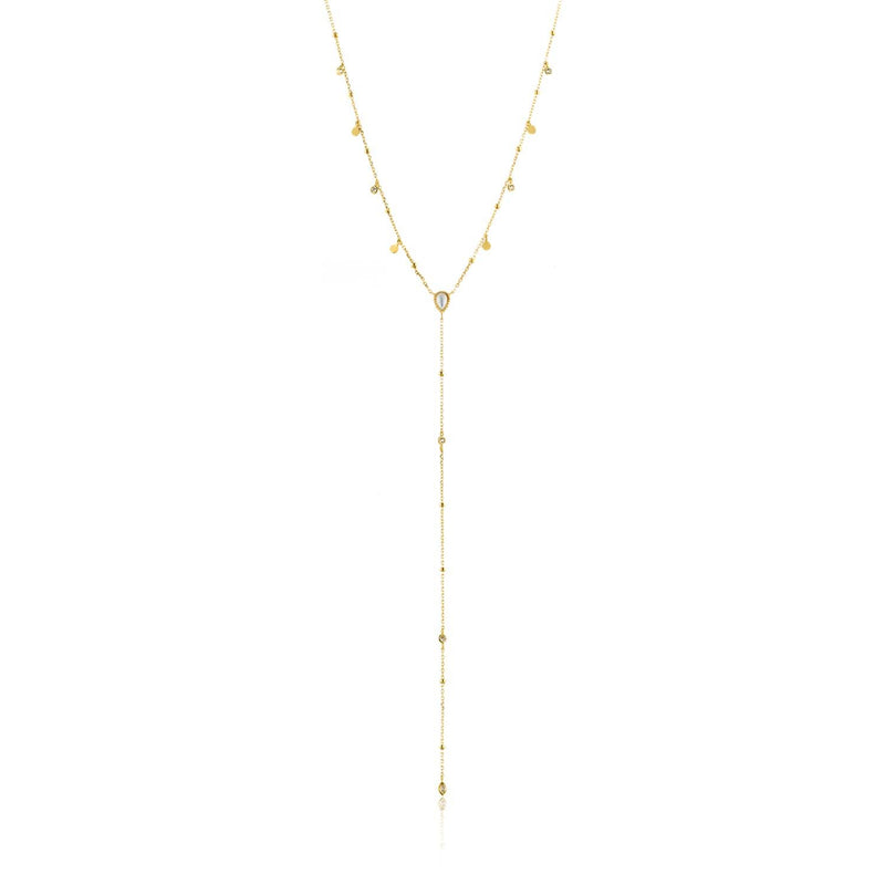 Ania Haie Dream Y Necklace - Gold