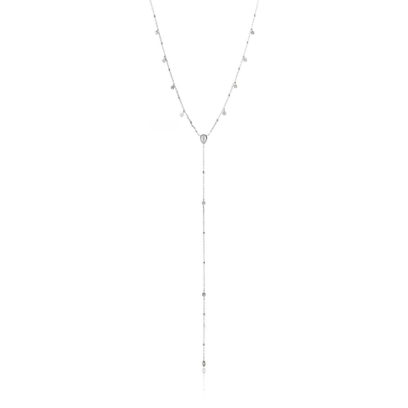 Ania Haie Dream Y Necklace - Silver