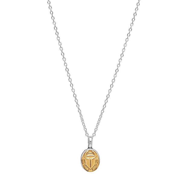 Najo - Golden Scarab Necklace
