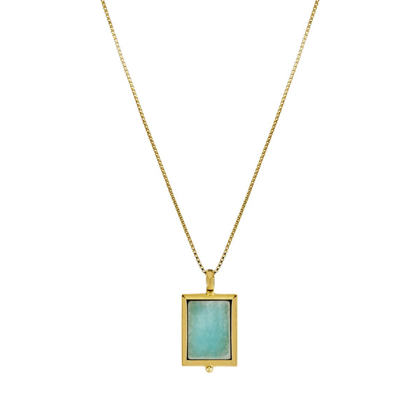 Najo Josephine Amazonite Necklace