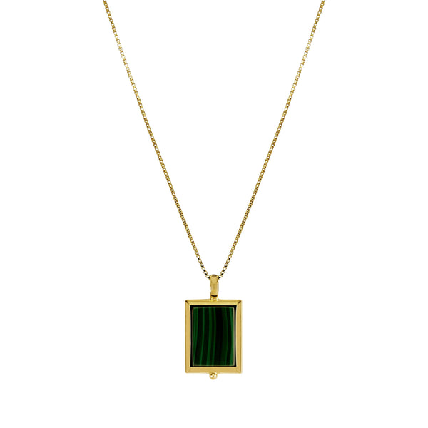 Najo Josephine Malachite Necklace