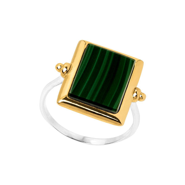 Najo Josephine Malachite Ring