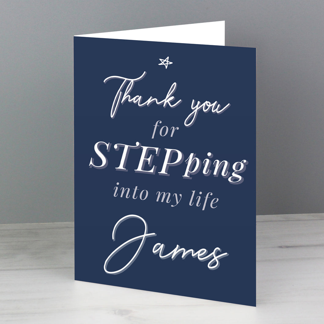 Personalised Stepdad Card
