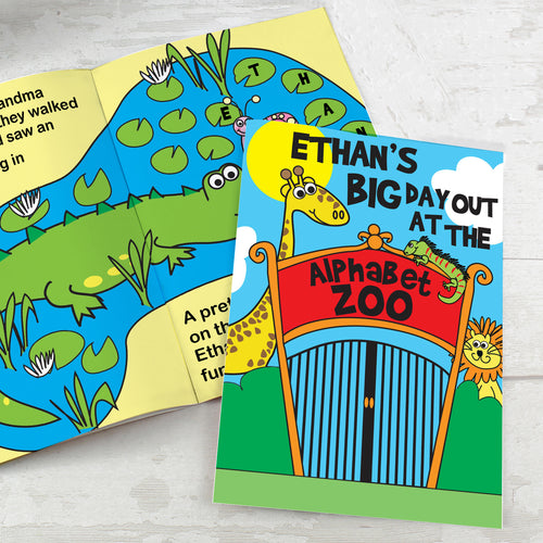 Personalised Zoo Story Book
