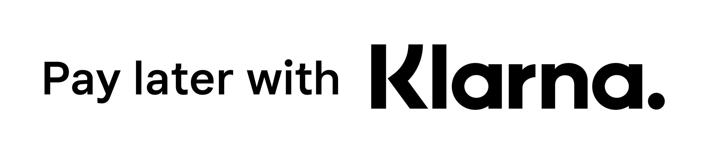 Pay later with Klarna banner