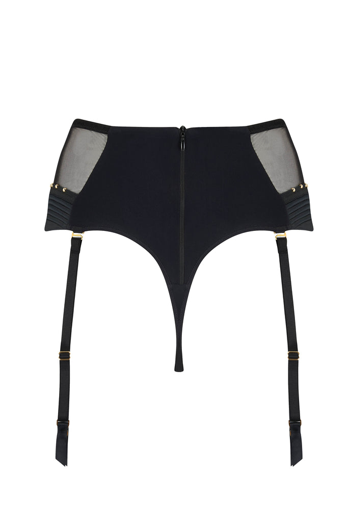 Babooshka designer thong with gold stud detail
