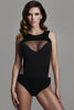 Tatu Couture Carine Body front view on model