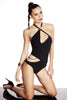 Designer swimwear by Tatu Couture featuring Nikita black one-piece swimsuit