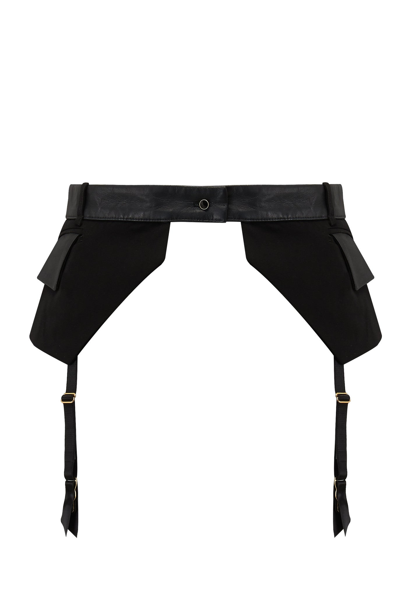 Tatu Couture Talia Pocket Belt Suspender on mannequin