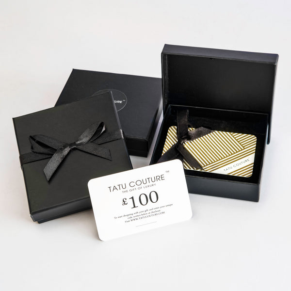 Gift Card £100 | Tatu Couture Luxury Lingerie Gift Vouchers