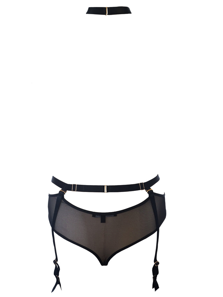 Gigi Thong harness with detachable suspenders