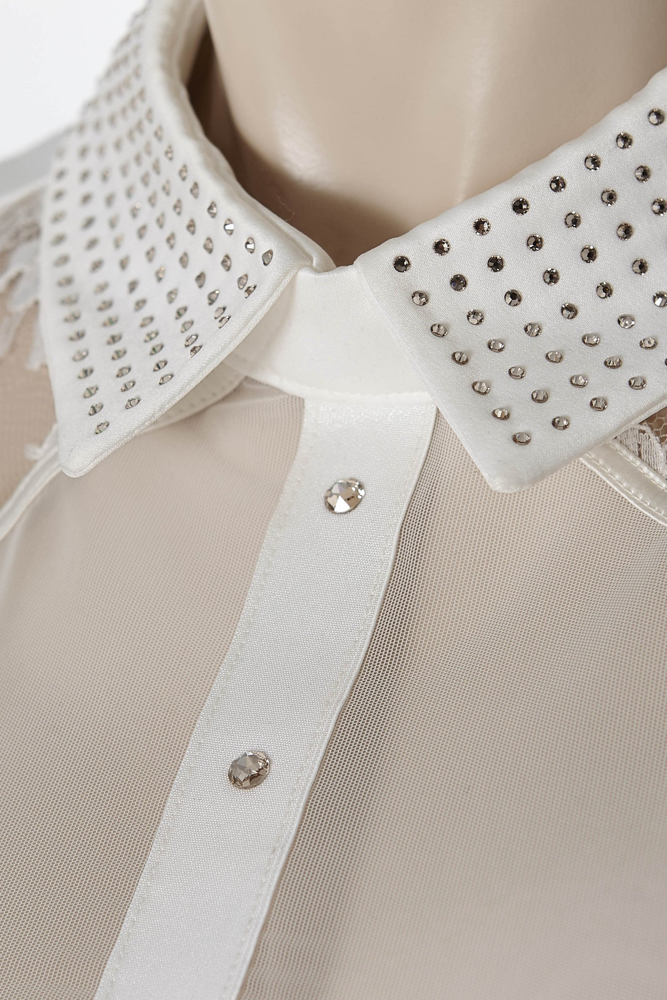Nadya Collar body by Tatu Couture . Close up of collar detail