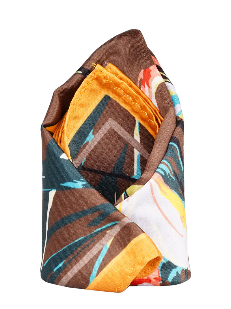 Multi Printed Pocket Square