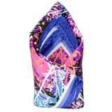 Multicolor Printed Floral Pocket Square