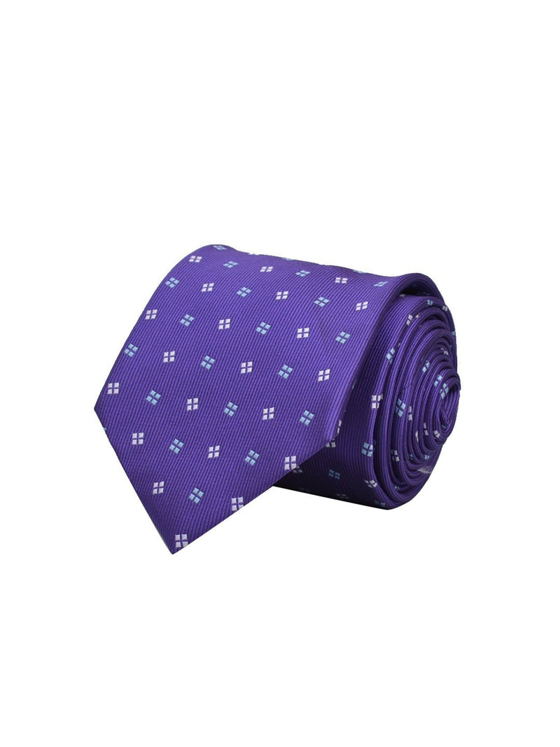 Purple Dots Necktie