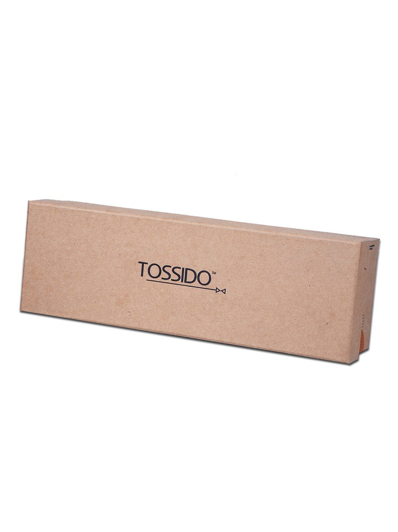 Cardboard pack of three neckties Box - TOSSIDO