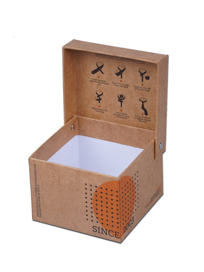 Cardboard Single Necktie Box - TOSSIDO