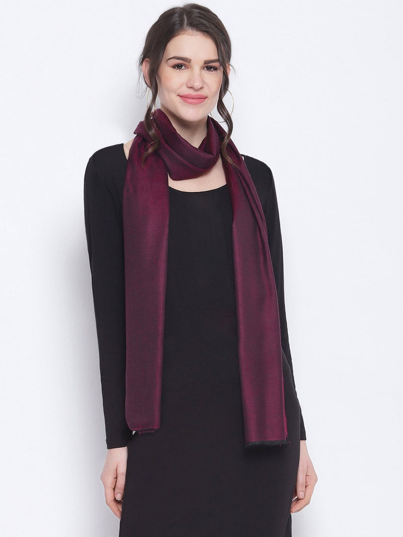 Magenta reversible Modal Stole - TOSSIDO