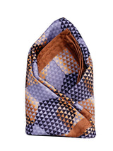 Multicolor Printed Pocket Square - TOSSIDO