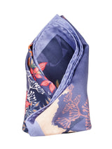 Purple Printed Pocket Square - TOSSIDO