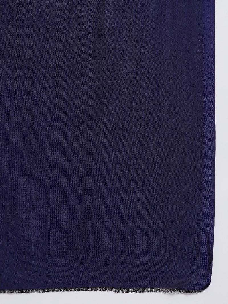 Purple two tone reversible Modal Stole - TOSSIDO