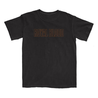 Trouble's Coming Black T-Shirt