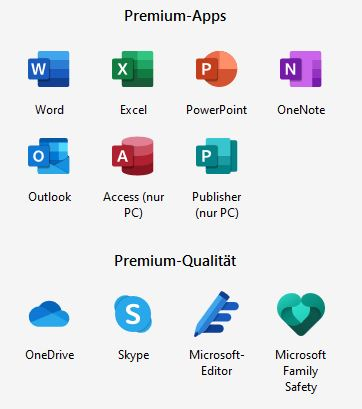 Microsoft Office 365 Family Deutsch PKC