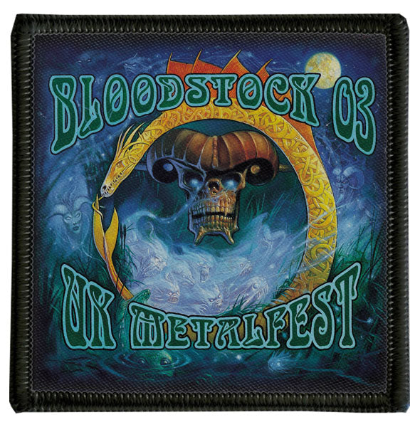 2003 Bloodstock Logo Patch