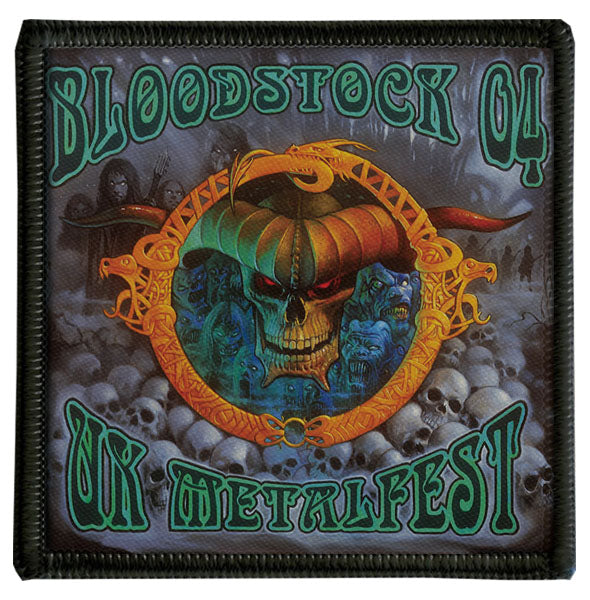 2004 Bloodstock Logo Patch