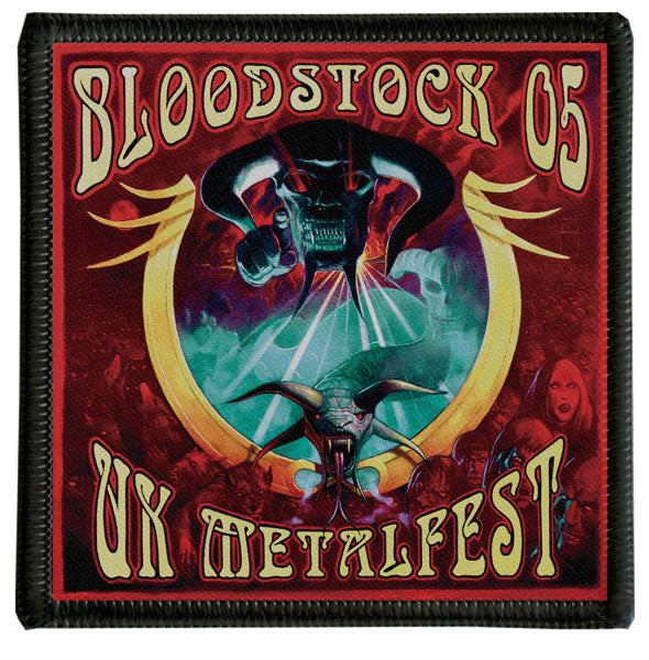 2005 Bloodstock Logo Patch