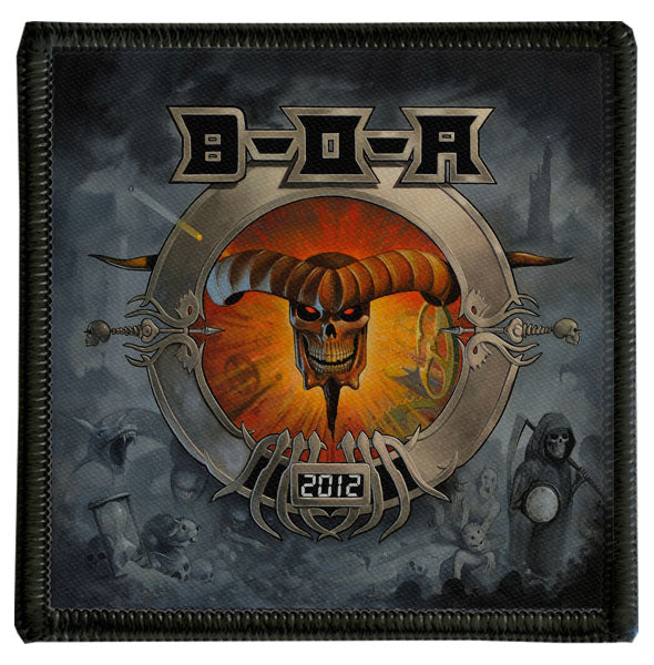2012 Bloodstock Logo Patch
